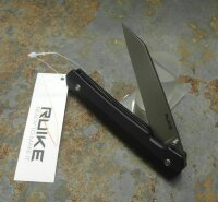 RUIKE Knives P865-B BLACK Messer Taschenmesser 14C28N G10 Griff Wharncliffe