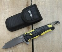 Walther Pro Rescue Knife yellow Messer Rettungsmesser...