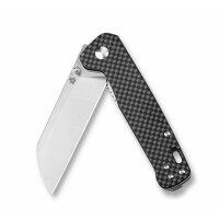 QSP Knife PENGUIN QS130E Messer D2 Stahl G10 Carbon Copper Washer Gürtelclip