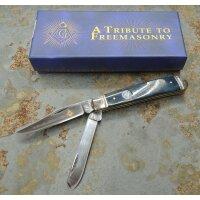 Rough Rider Masonic Mini Trapper Messer Taschenmesser...