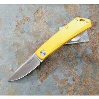 Real Steel RSK Luna Lite yellow Messer Taschenmesser...