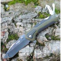 Sanrenmu Messer 7094 Taschenmesser 8Cr13 Stahl Linerlock...