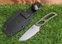 SanRenmu S628-1 Messer Fixed Blade 8Cr14MoV Stahl G10 ABS...