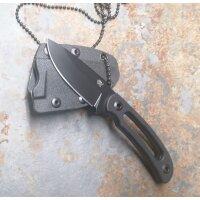 SanRenmu Messer 7132FUI-GH Fixed Blade Neck Knife...
