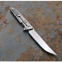 Sanrenmu Flipper Messer 1162 Taschenmesser Tanto 14C28N Stahl Betaplus Lock