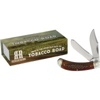 Rough Rider TOBACCO ROAD BOW Trapper Messer Slipjoint...