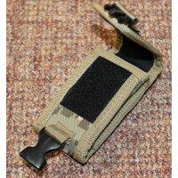 PIELCU Robustes Corduraetui für Messer 9-11cm Cordura Holster Desert Camo 71066