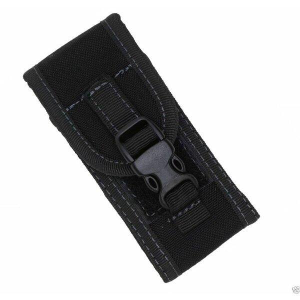 PIELCU Robustes Corduraetui für Messer 9-11cm Cordura Holster Schwarz 71068