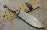 Oberland Arms Messer WUIDERER SEPP Coyote-Braun D2 Stahl...