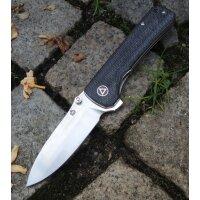 QSP Knife HAWK QS131-J Messer Taschenmesser 14C28N Stahl...