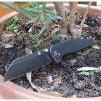 QSP Knife PENGUIN QS130-O Messer 154 CM Stahl Titangriff...