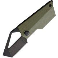 Kizer Messer CyberBlade Linerlock OD Green M390 Stahl G10...