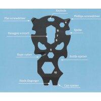 Roxon Multi-Funktions-Tool Schlüsselanhänger...