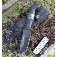 SCHRADE Messer SCHF51 Outdoormesser 1095 Stahl TPE-Griff...