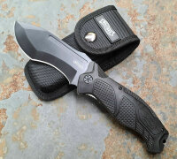 Walther Messer OSK II Outdoor Survival Knife Taschenmesser 440 Stahl + Nylonetui