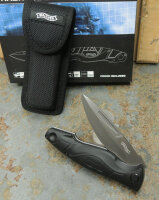 Walther Messer TFK Traditional Folding Knife Taschenmesser 440C Stahl + Etui