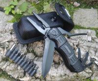 Walther MTK Multi Tac Knife Multitool Taschenmesser 440A...