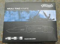 Walther MTK Multi Tac Knife Multitool Taschenmesser 440A Stahl Nylonetui 5.0718