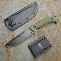 Böker Magnum Messer Persian Fixed Outdoormesser Bushcraft Knife 440 Stahl