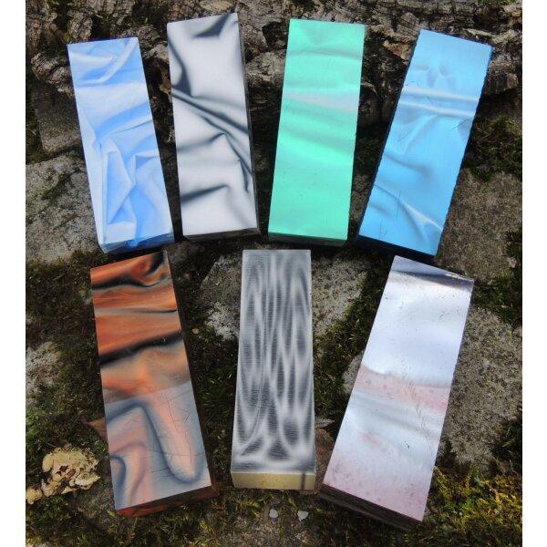 EnZo Acryl oder Polymerplatten Material für Messergriff Baukit für Messerklingen